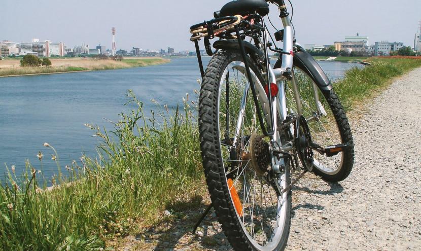 市議会議員選挙期間中の自転車遊説