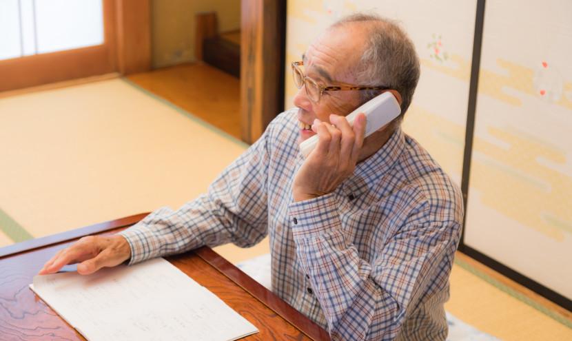 市議会ぎ意選挙で有権者一人一人に電話をかける電話作戦